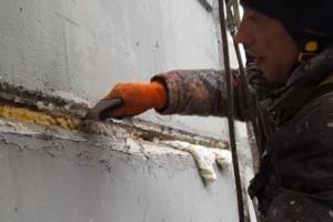 ремонт межпанельных швов зимой