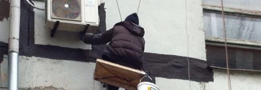 ремонт швов зимой
