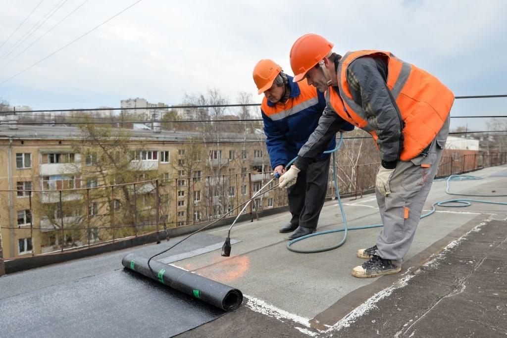 ремонт крыши жилого дома